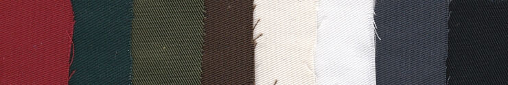 2015 cotton twill swatches