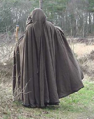 Custom Scriptorium Wool Full Circle Cloak