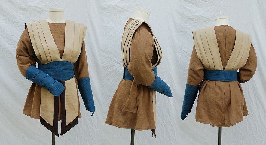 Custom linen alternate Jedi style outfit
