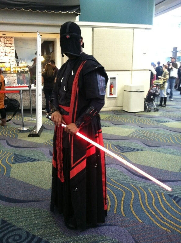Dark side Miraluka at Celebration VI