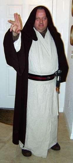 David as Obi Wan