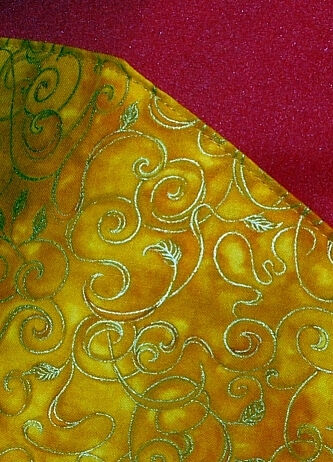 Doctor Strange style cloak fabric detail