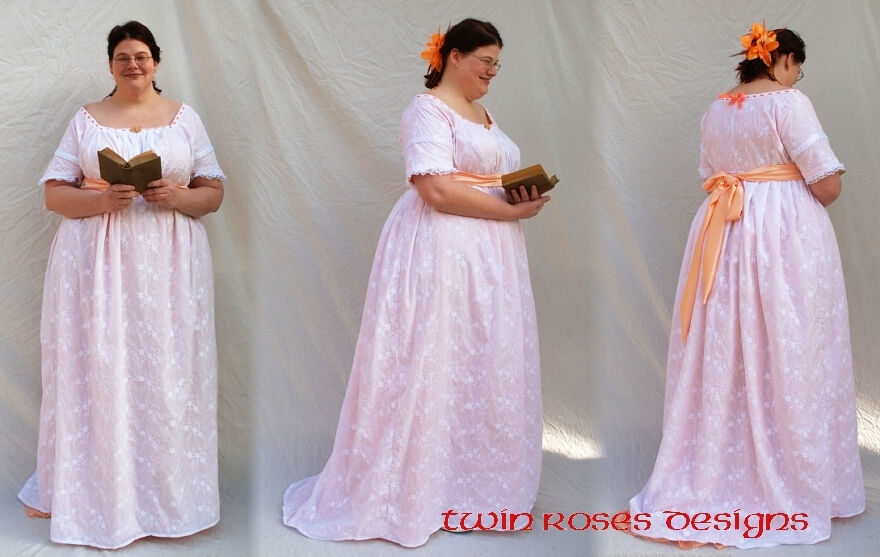 Dolley Madison Inspired Gown