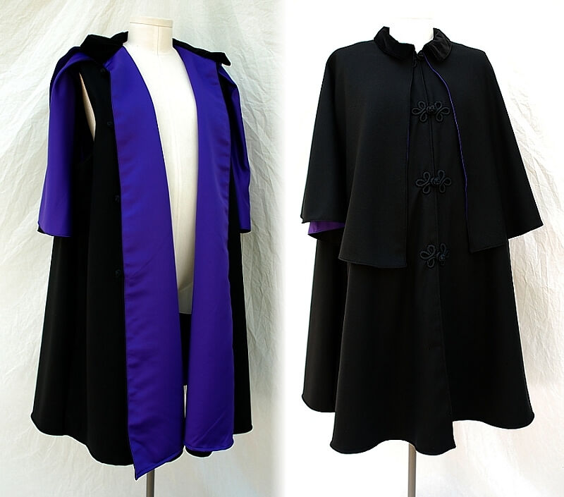 The Third Doctor style Inverness Cape
