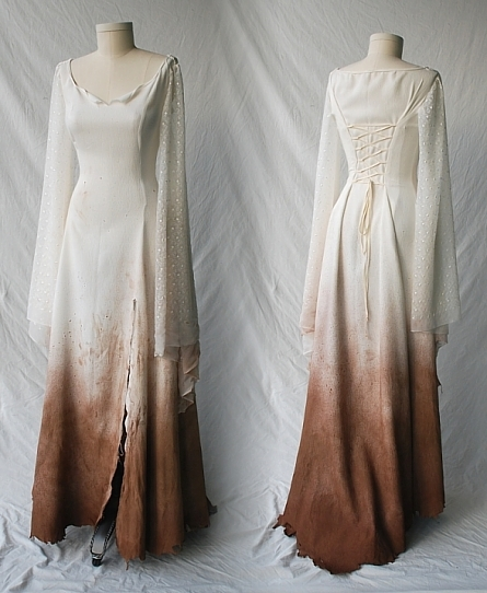 Elven Tencel and Silk Dress for promotional film