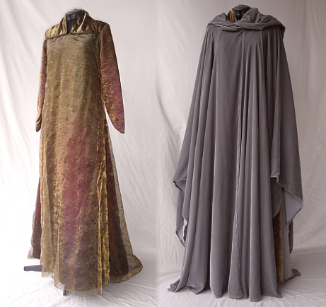 Gown and Cloak created for Arrival at Esgaroth