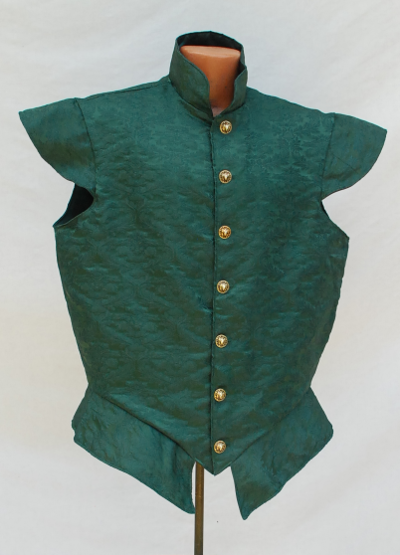 Green Brocade Doublet