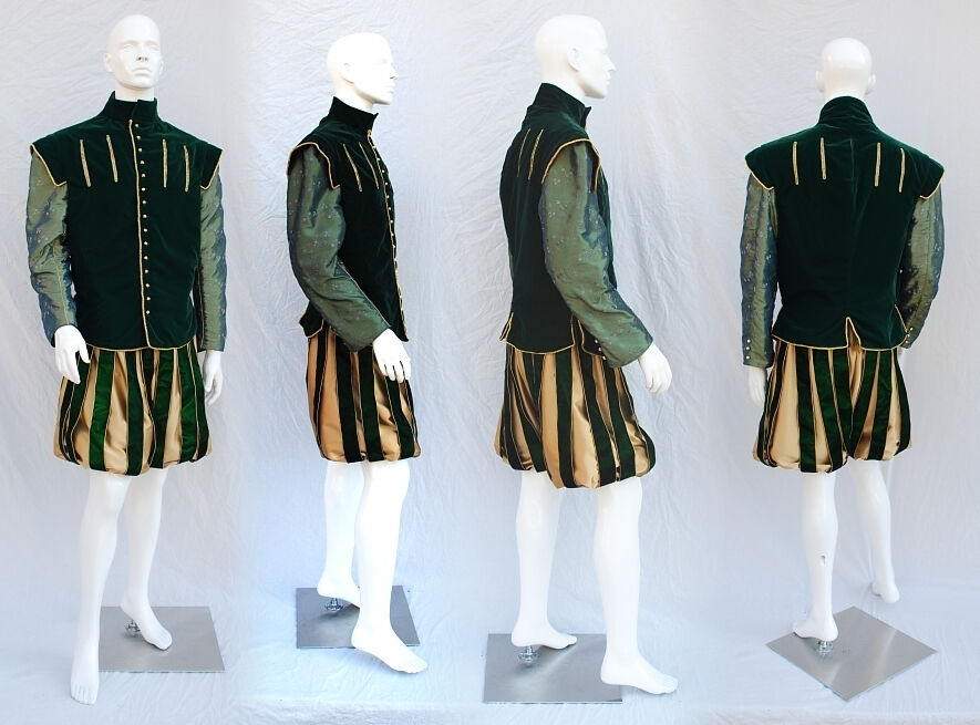 Custom Ordered Green Montpensier inspired costume