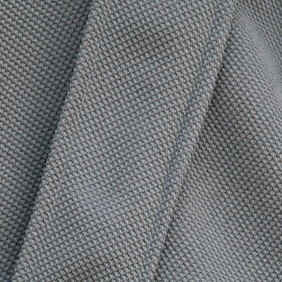 Grey Knitwear Scrunched Sleeve Inner Tunic Fabric Detail