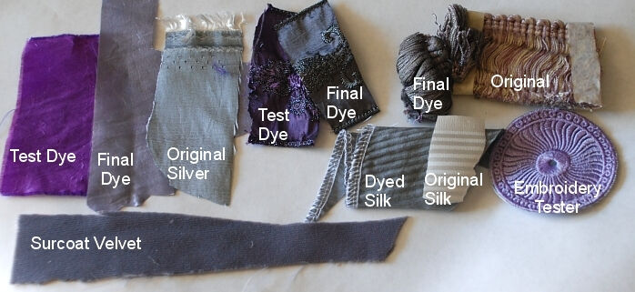 Head Master Fabric Swatches