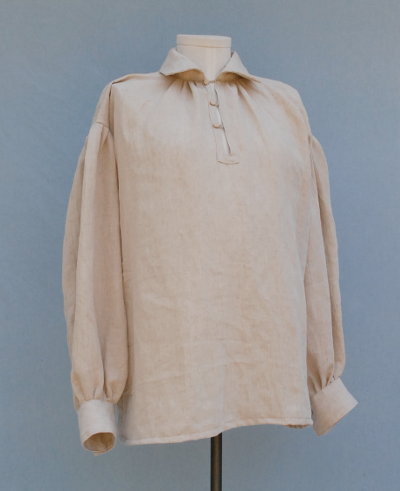 Hemp Rev War Era Style Shirt