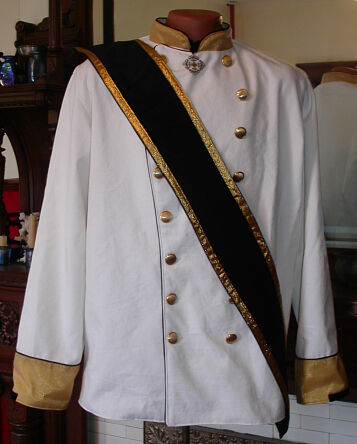 Imperial Style Dress Jacket with Sash