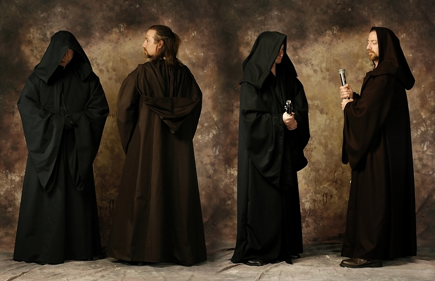 Jedi Robes & Coats and Robes for Sale From Twin Roses Designs! Costume Design and ...