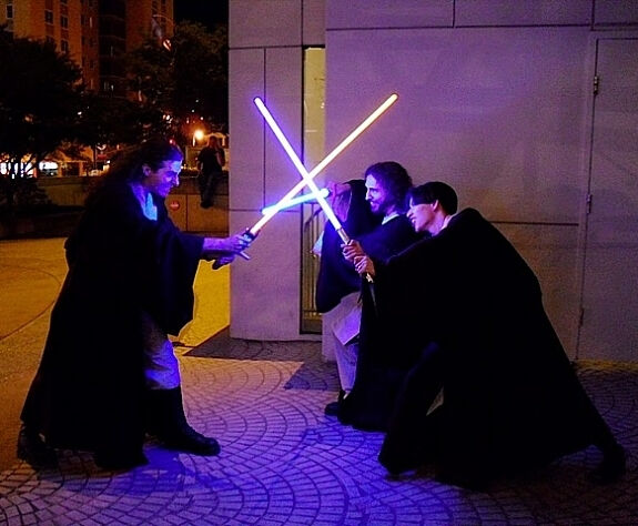 Jedi clash at DragonCon