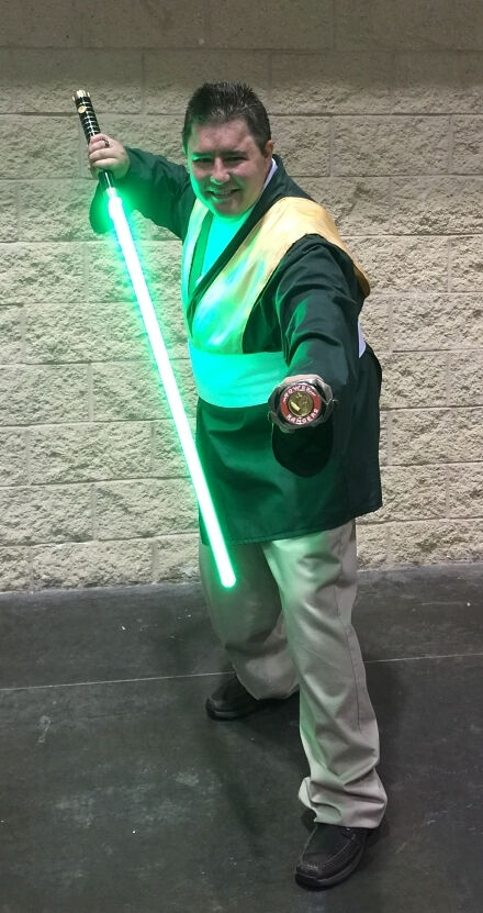 Power Ranger Jedi Joe