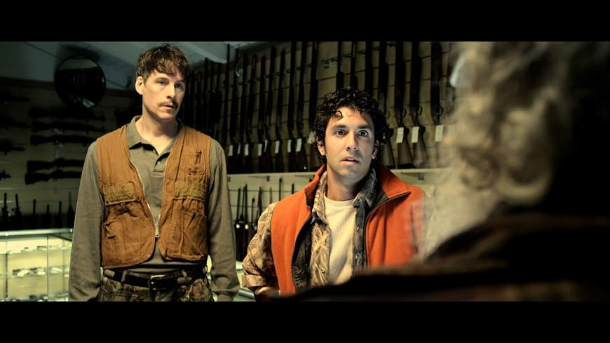 The Hunt film still - Kurt, Nathan and Doyle