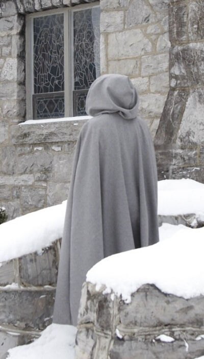 Lady of the Mists Wool Cloak
