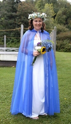 Lara D Custom Wedding Cloak