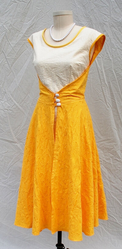 Lemon Drop Yellow Wrap Dress