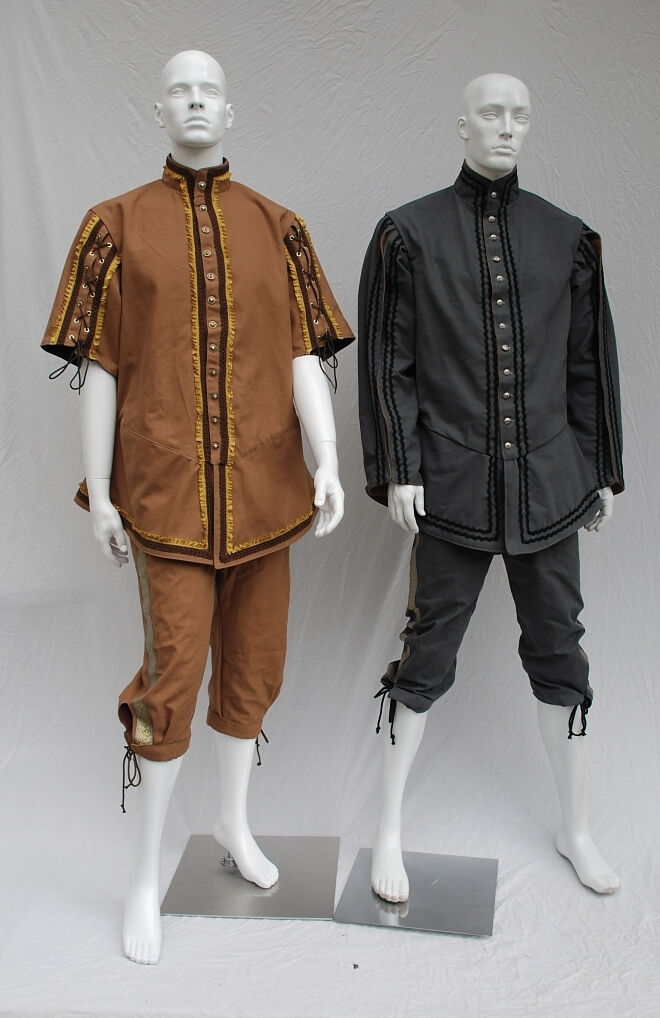 Lion and Mouse Custom Created Fencing Costumes