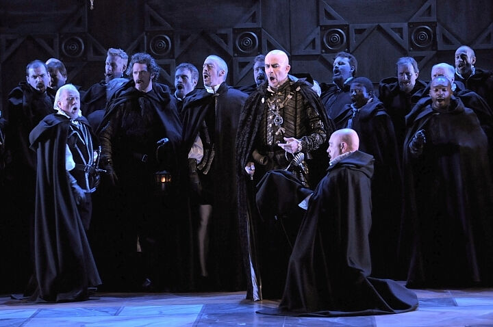 Lyric Opera of Chicago Ernani production still