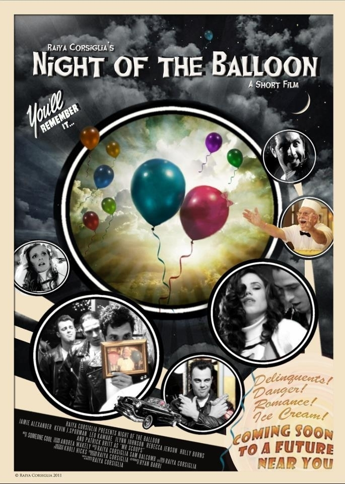 Night of the Balloon Film Poster