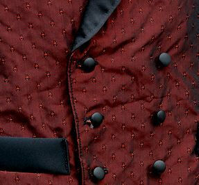 Night Watch Mens Victorian Waistcoat Detail