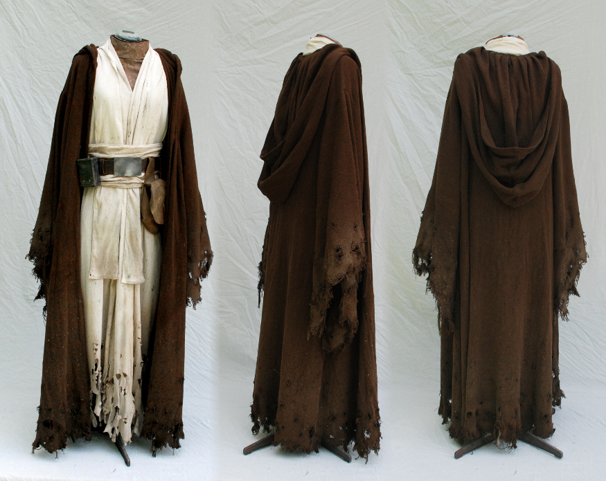 Old Obi Wan Aged and Distressed Costume