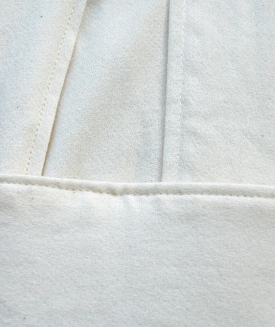Old Obi Wan Style Cotton Long Tunic Set Fabric Detail