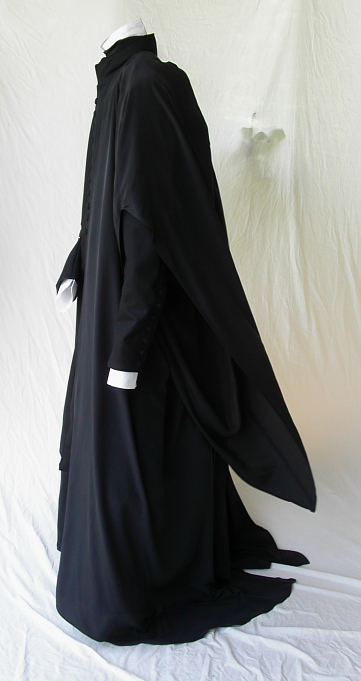 Potions Master Inspired Ensemble with Silk Robe Side View