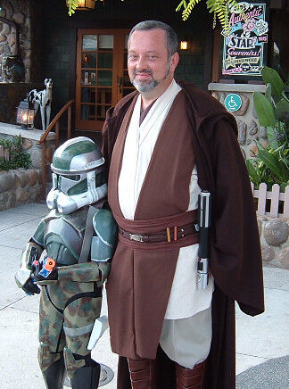 Jedi Style Wool Robe, Cotton Tunic, Tabards and Obi