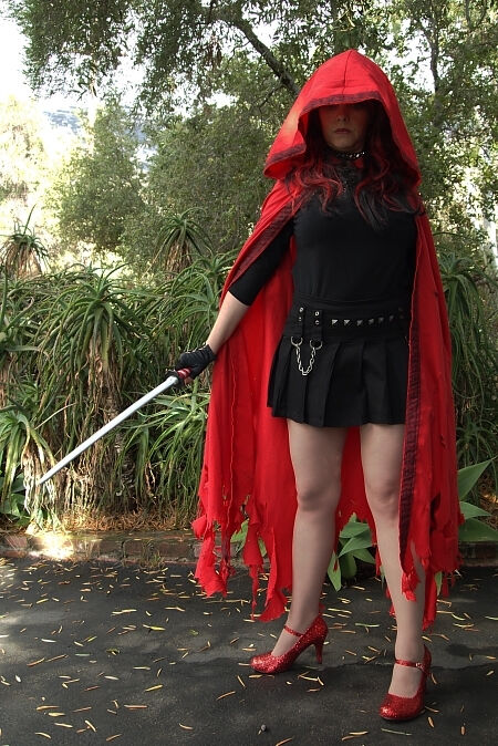 Red Revenge Custom Cloak
