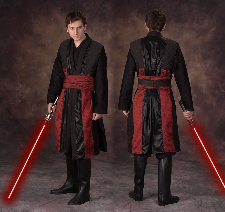 Red and Black Sith Surcoat