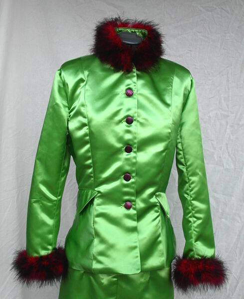 Rita Skeeter Inspired Green Satin Outfit