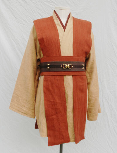 Sand, Terracotta and Tawny Brown Jedi Tunic Set