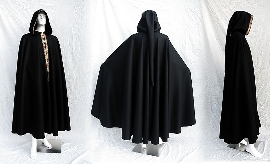 Scriptorium Wool Full Circle Cloak