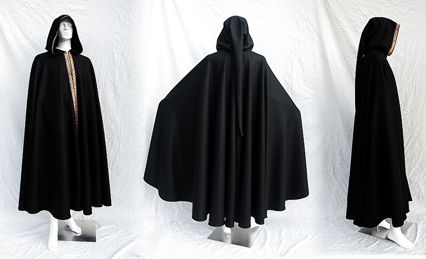 Scriptorium Full Circle Wool Cloak