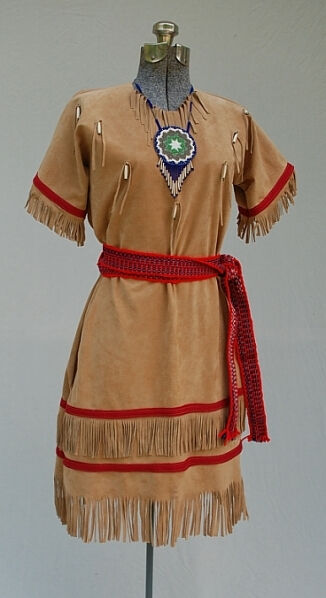 Sisters in Time Cherokee Costume