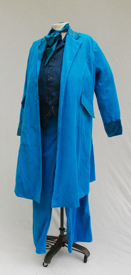 The Sixth Dr's Blue Costume