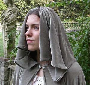 Requiem Cloak Hood Detail
