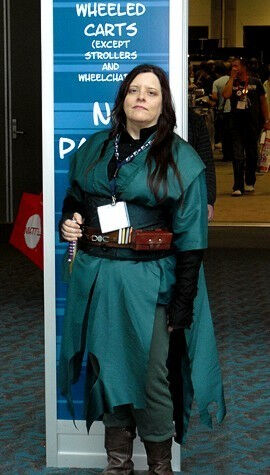 Steampunk Jedi at ComiCon