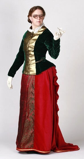 Steampunk Mrs. Claus Costume