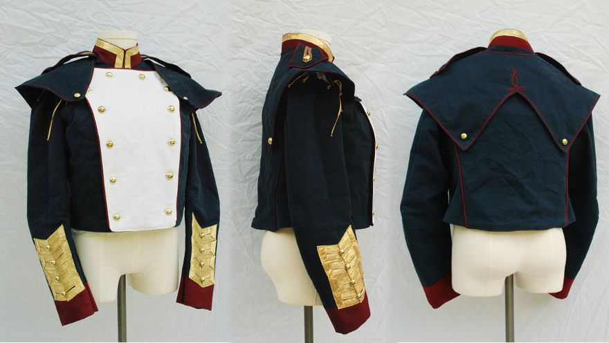 Portfolio of movie quality fantasy custom costumes created for The order 1886 shirt