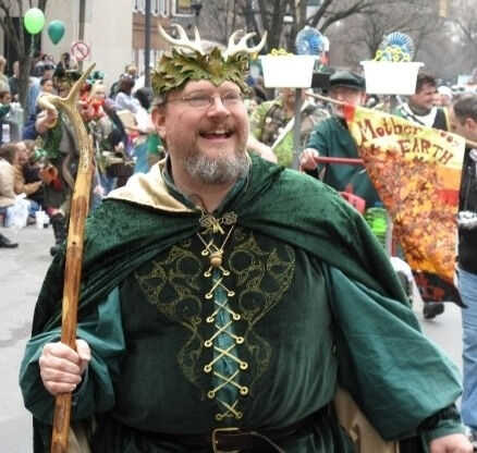 Thomas in St. Patrick's Day Parade