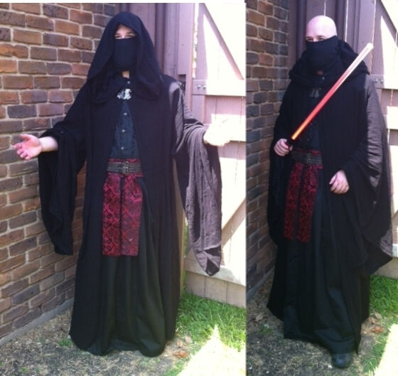 Unique Custom Made Sith Costume