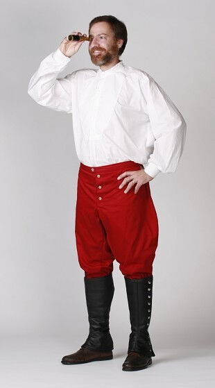 Victorian Shirt, Edwardian Breeches and Gaiters