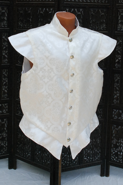White on White Brocade Doublet