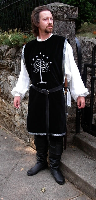Guard of the White City Embroidered Cotton Surcoat