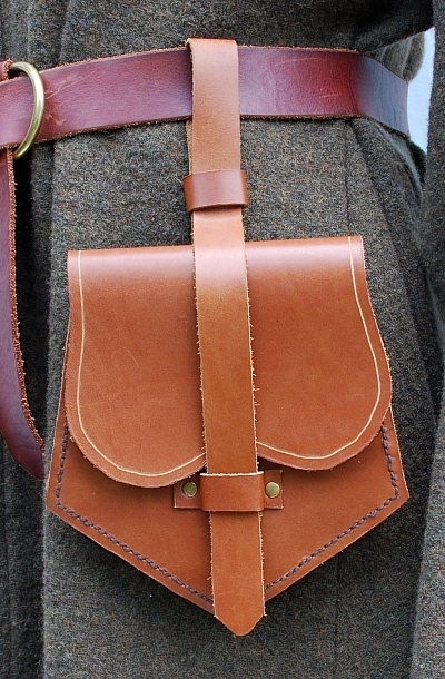 Leather Birka Bag