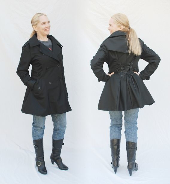 Playbook replica coat for Sharon